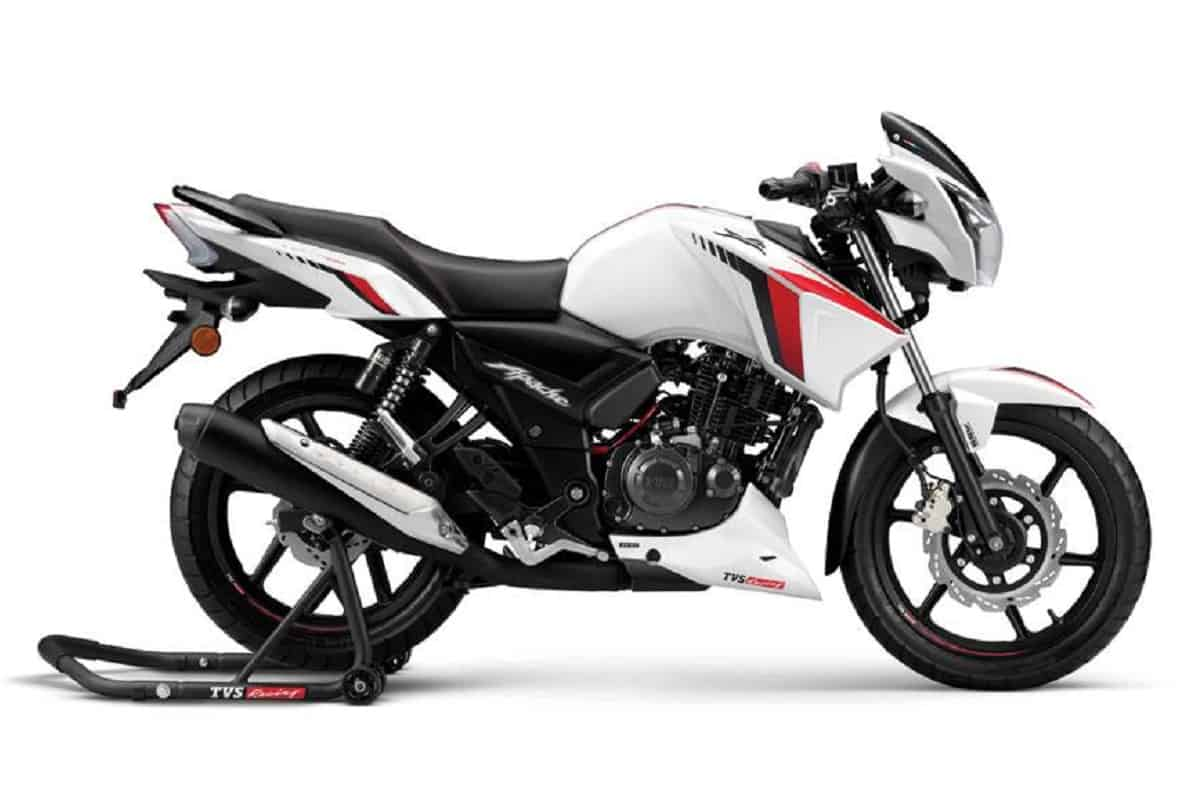 BS6 TVS Apache RTR 160 Priced At Rs 93,500