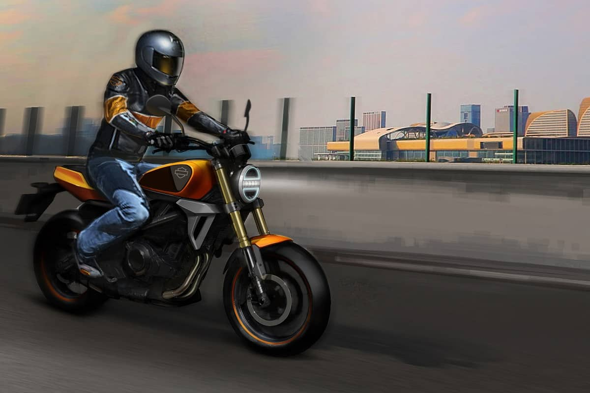 Harley Davidson small displacement bike