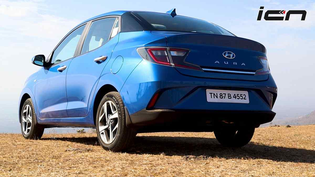 Hyundai Aura Review Design