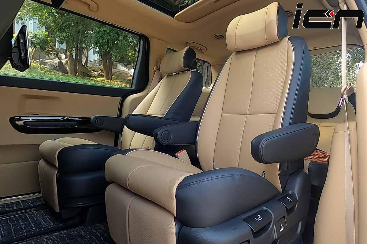 Kia Carnival Limousine Seats