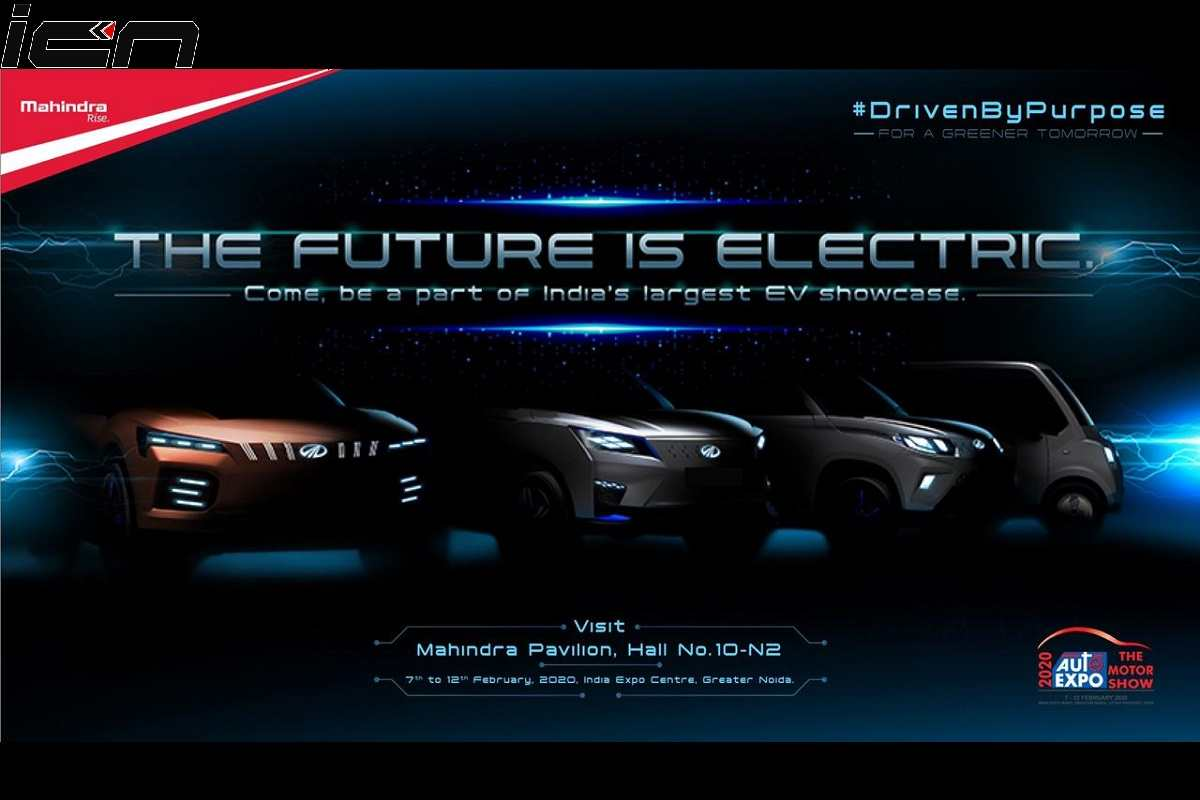 Mahindra XUV300 EV To Be Unveiled on February 5 – Teased