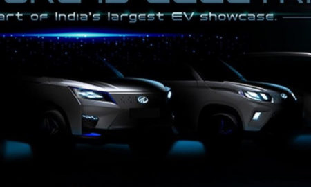 Mahindra XUV300 Electric Teased (1)