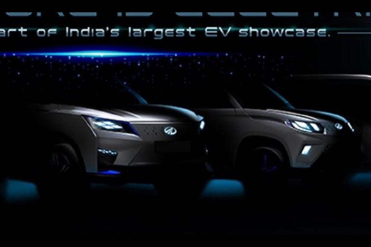 Mahindra XUV300 Electric Teased (1)
