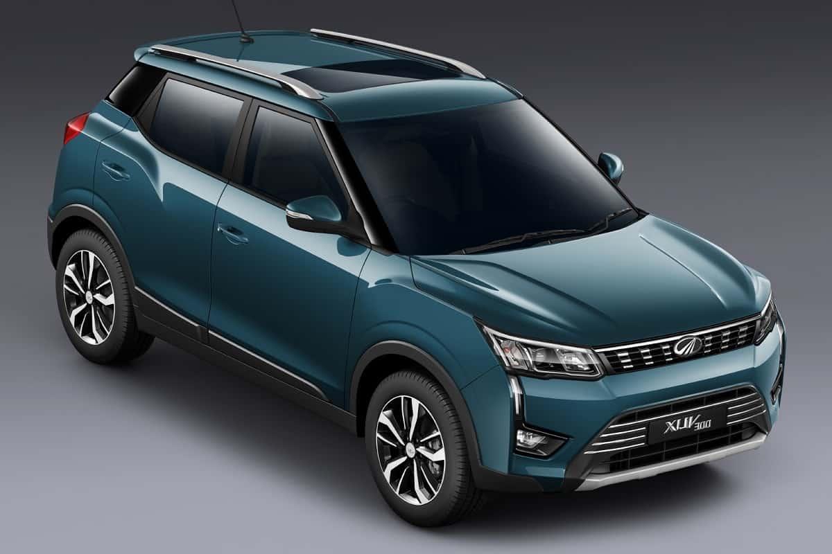 Mahindra XUV300 Electric at 2020 auto expo