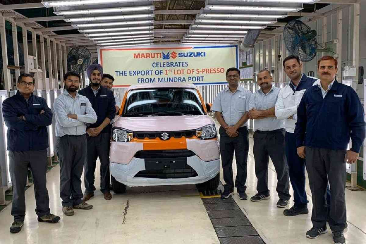 Maruti Suzuki S-Presso Export Begins In Global Markets