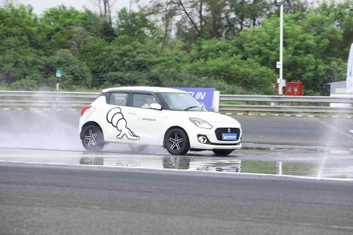 Michelin Tyre Test 2