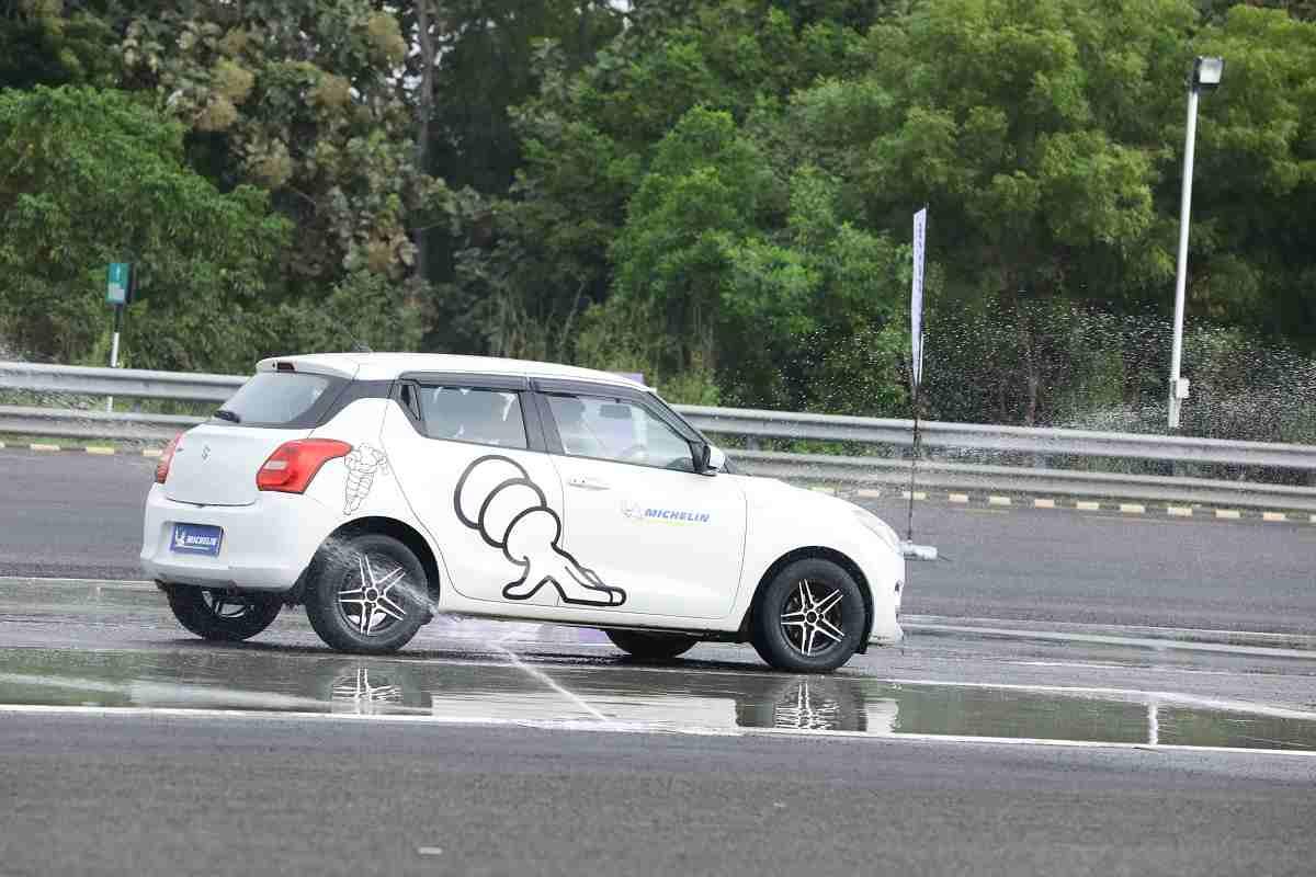 Michelin Tyre Test 3
