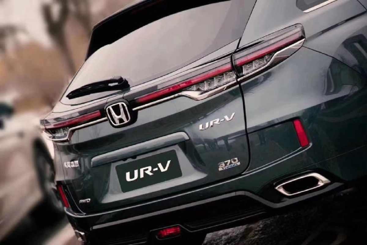 New Honda UR-V rear