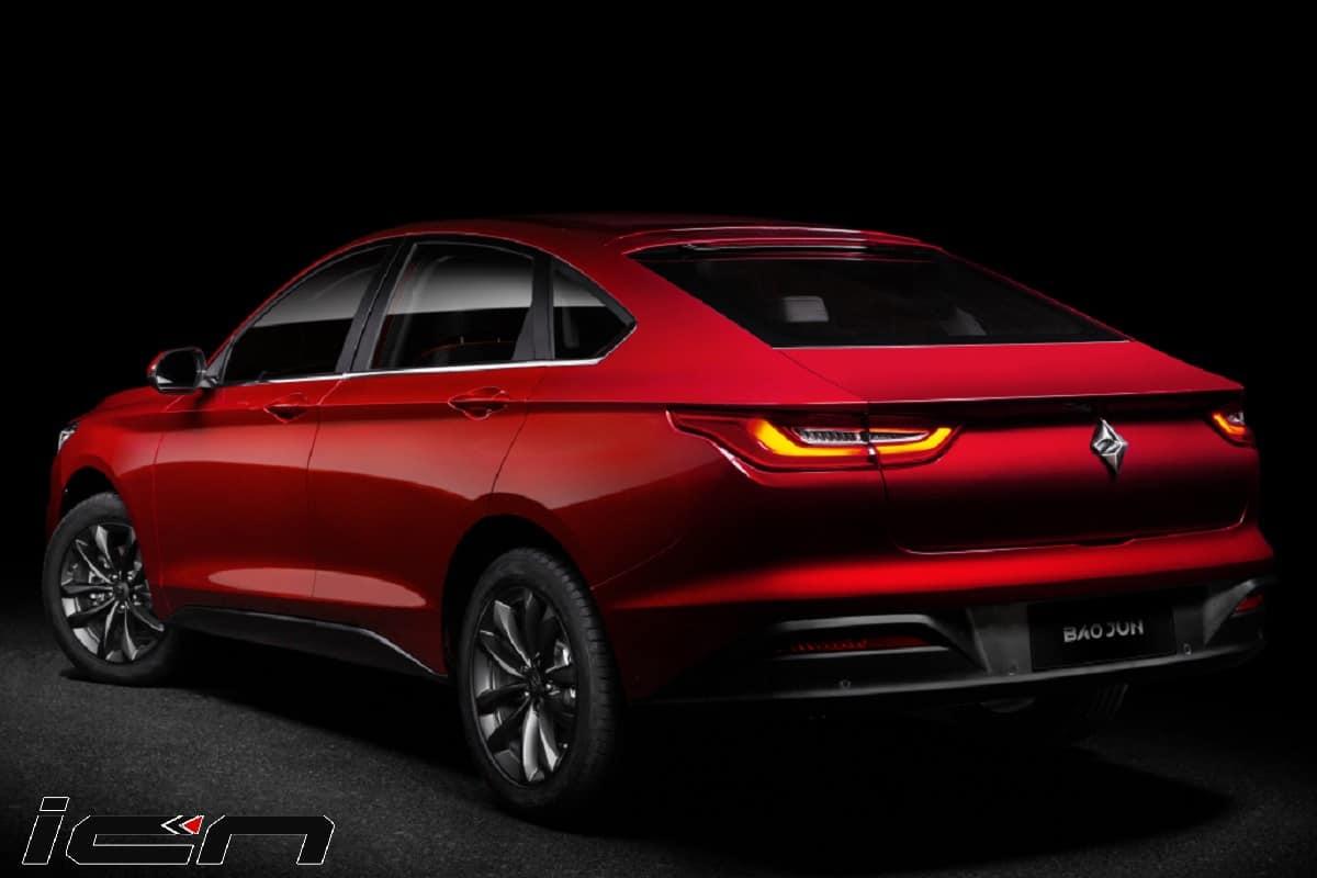 New MG Sedan Details