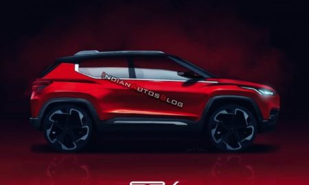 Nissan Compact SUV Rendered