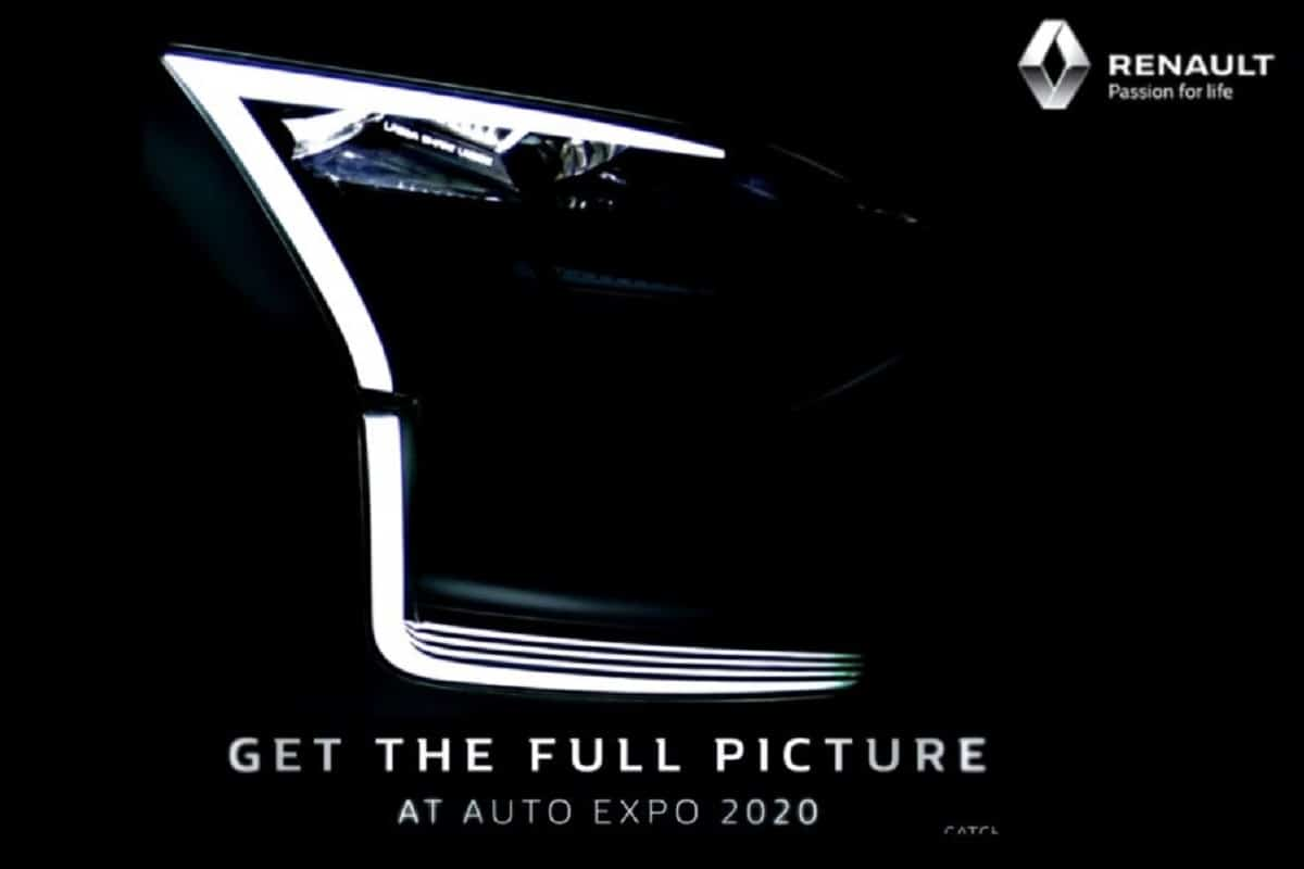 Renault HBC Compact SUV Teased Ahead of Auto Expo Debut