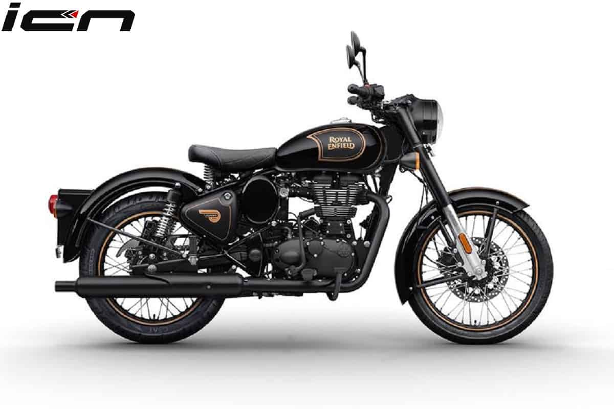Royal Enfield Classic 500 Tribute Black Edition Details