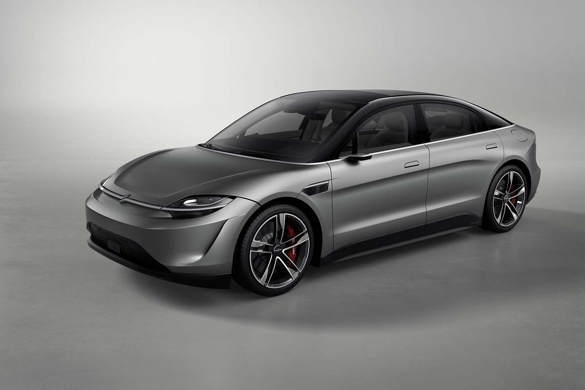 Sony Shocks the World With Vision-S Electric Car Concept at CES 2020