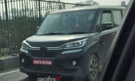 Suzuki Solio Bandit front spied