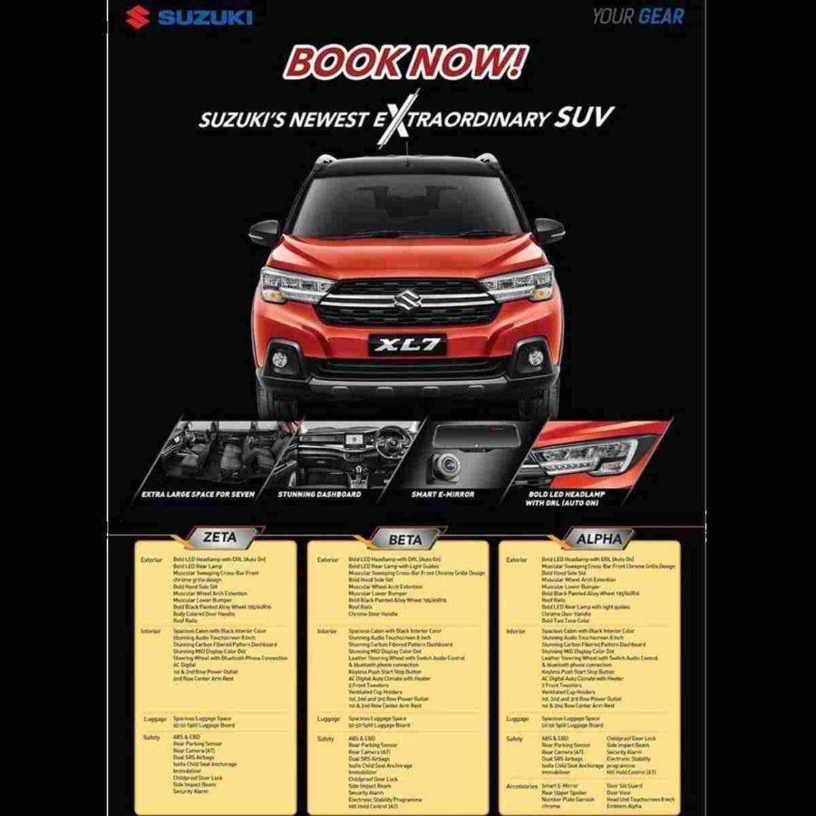 Suzuki XL7 Indonesia Brochure