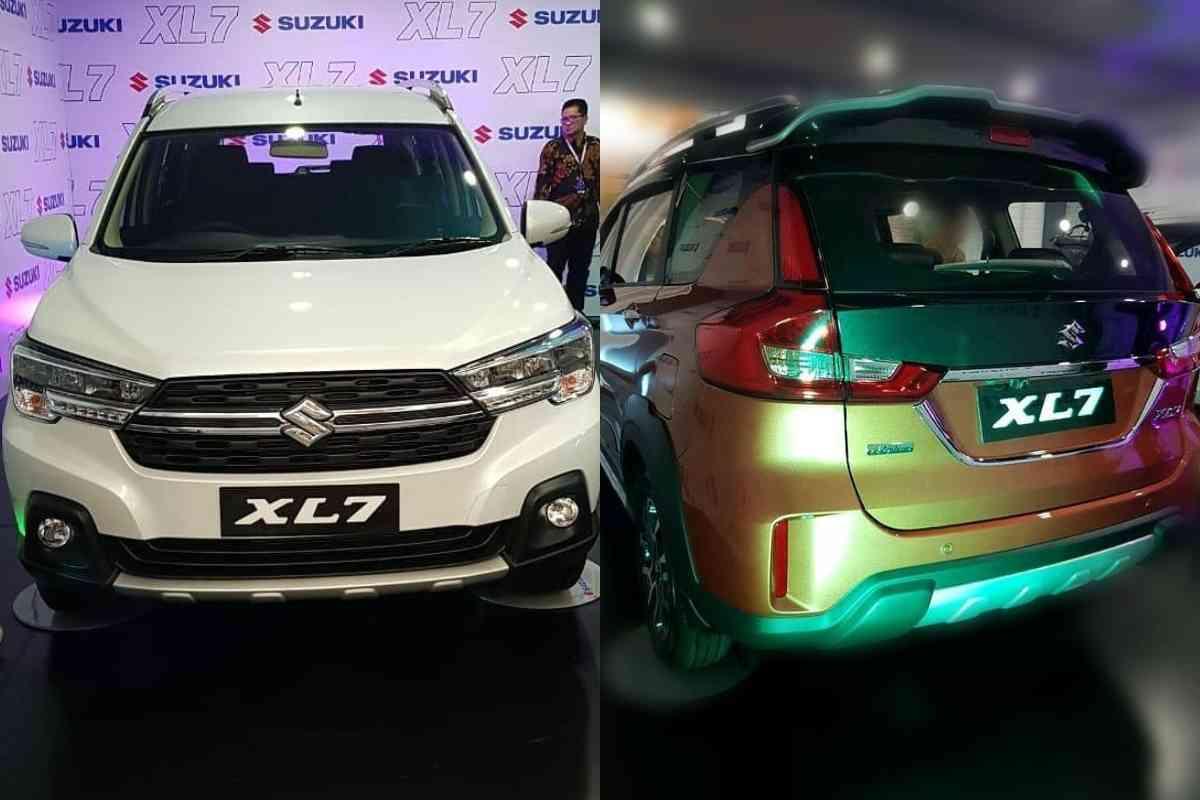 Suzuki XL7 Leaked rear