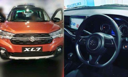 Suzuki XL7 leaked