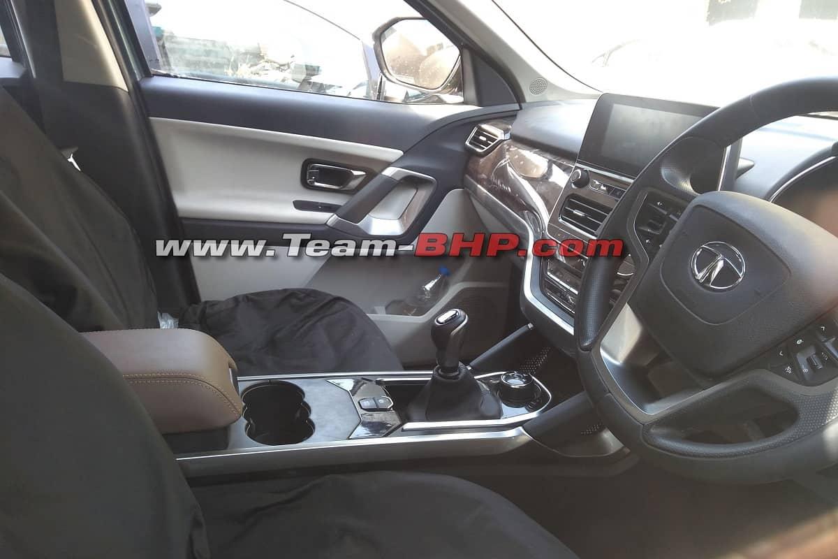 Tata Gravitas SUV Interior Revealed In Spy Pictures