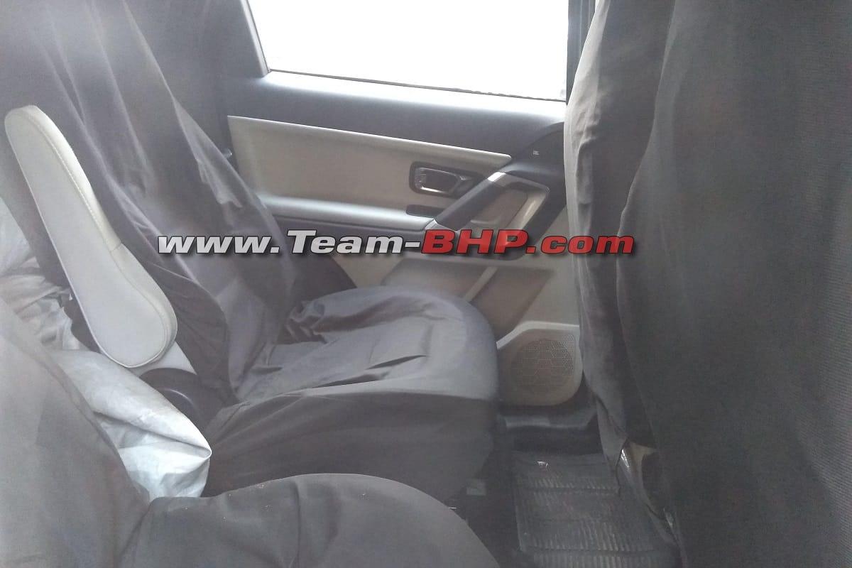 Tata Gravitas captain seats