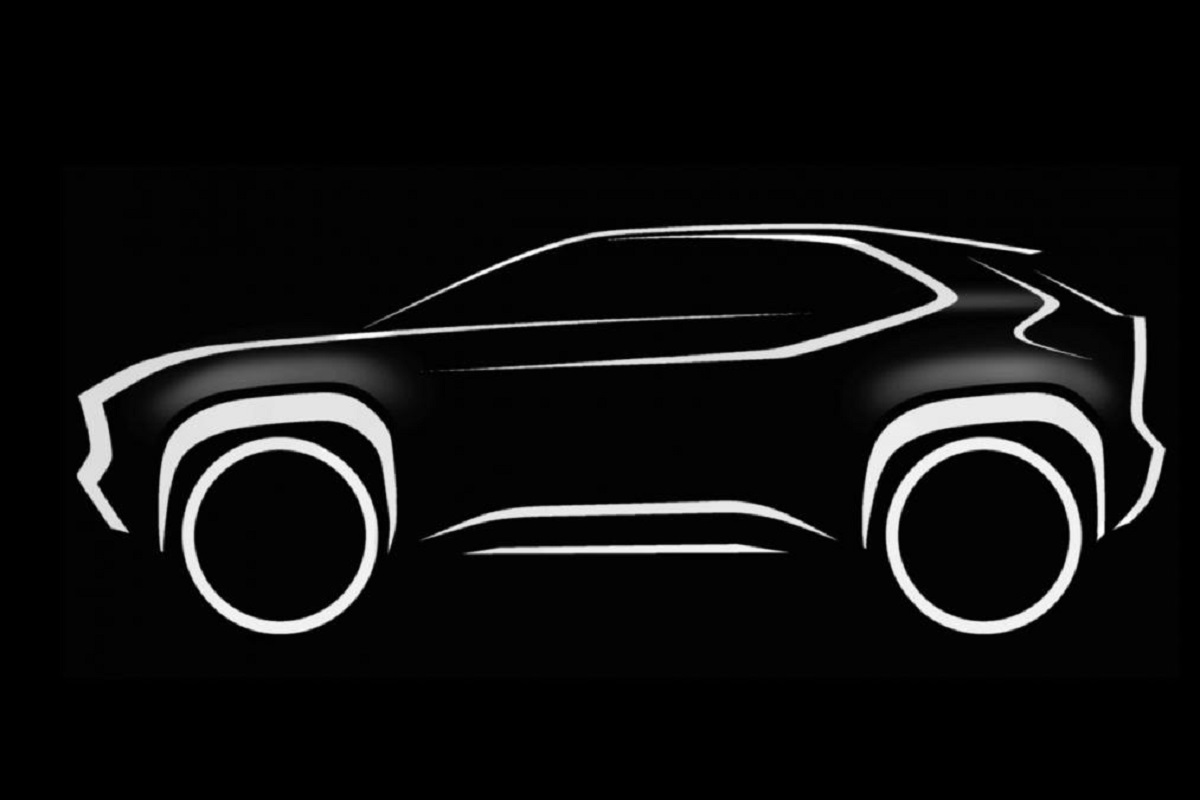 Toyota's New Compact SUV Teased; Debut on March 3