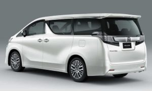 Toyota Vellfire Booking Details