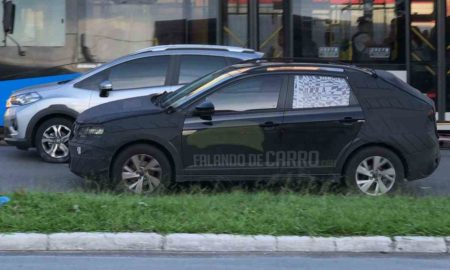 Volkswagen Nivus Spied