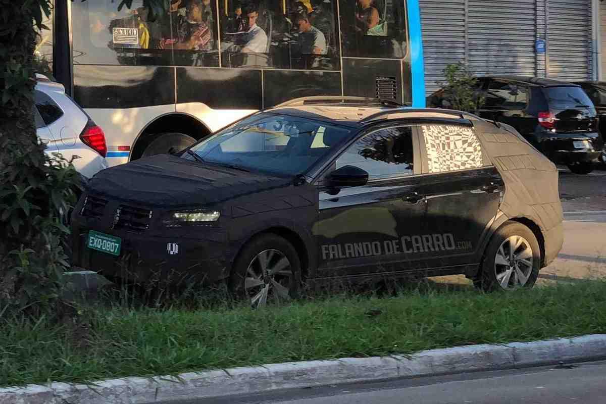 Volkswagen Nivus Spied Front