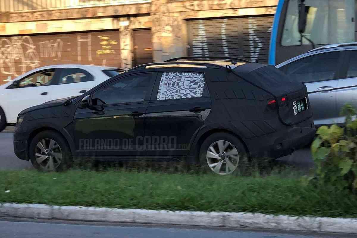 Volkswagen Nivus Spied rear