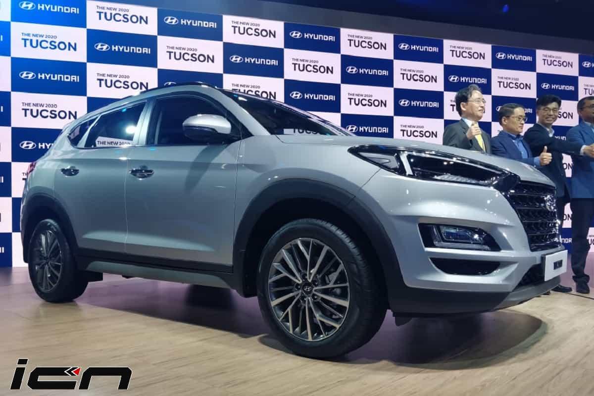 2020 Hyundai Tucson Facelift Auto Expo