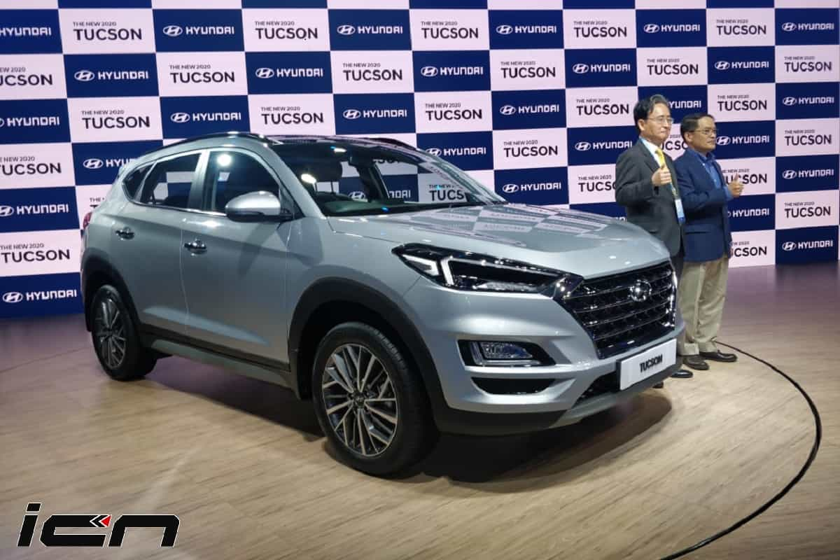 2020 Hyundai Tucson Facelift India