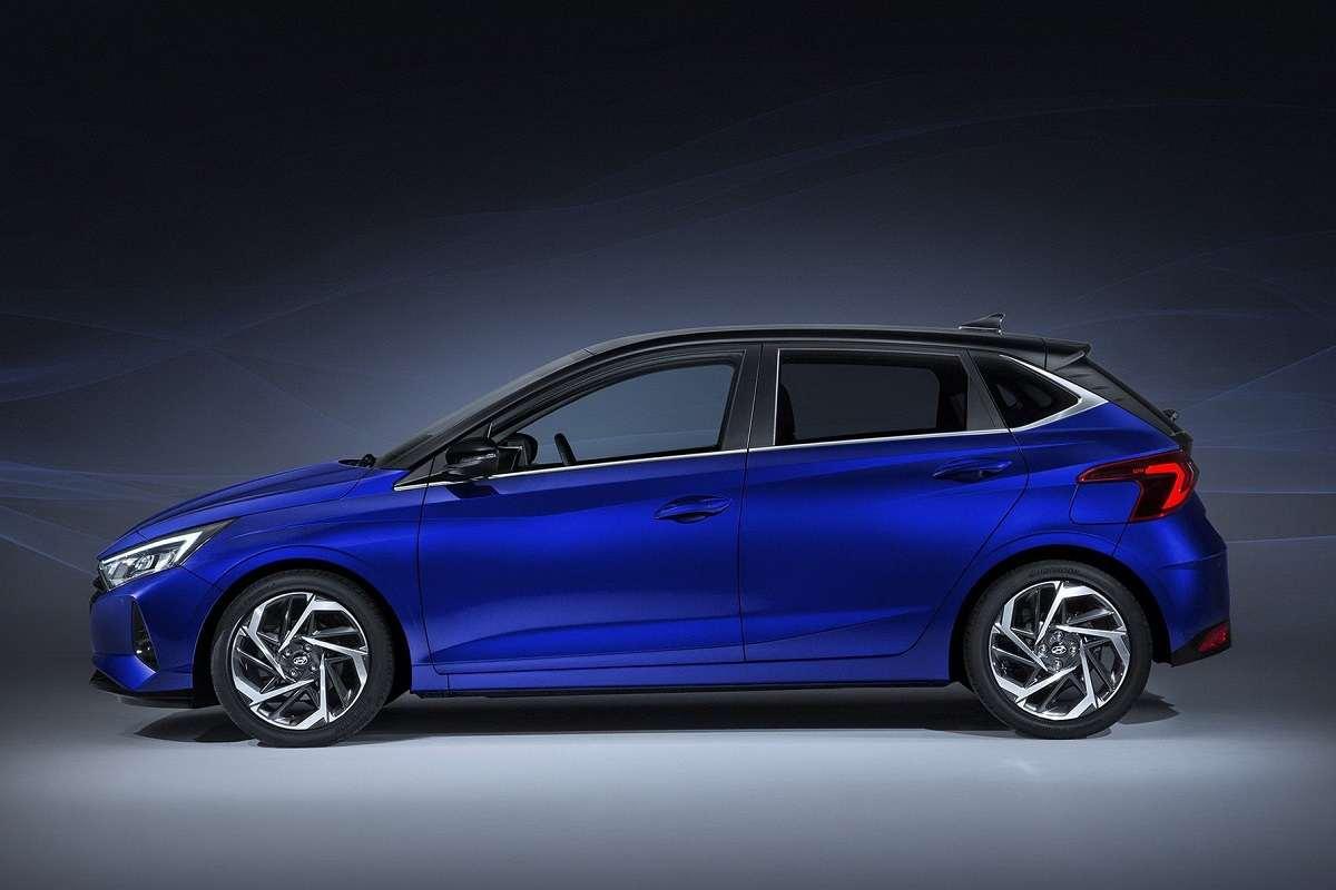 2020 Hyundai i20 Side
