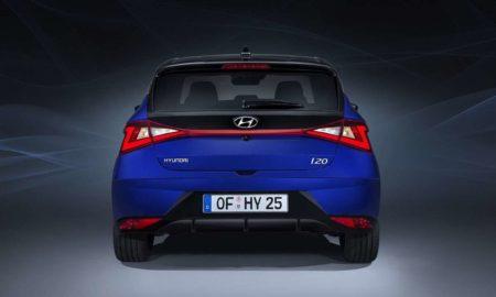 2020 Hyundai i20 rear