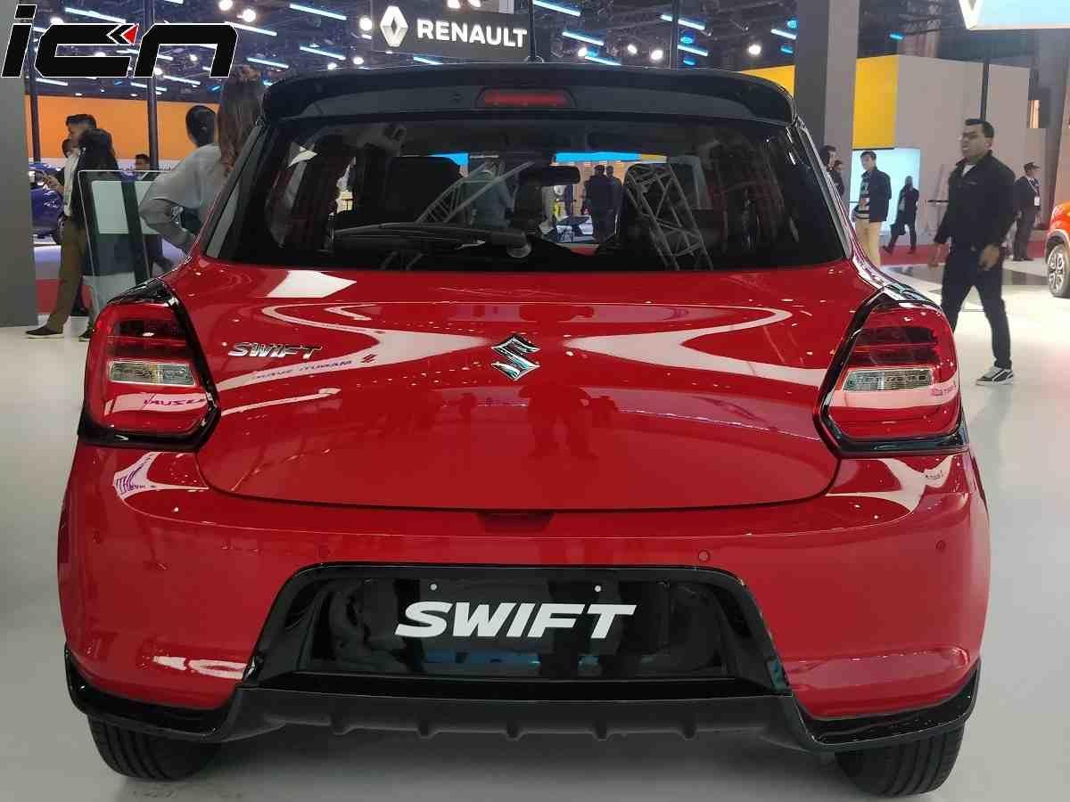 Accessorised Swift Rear