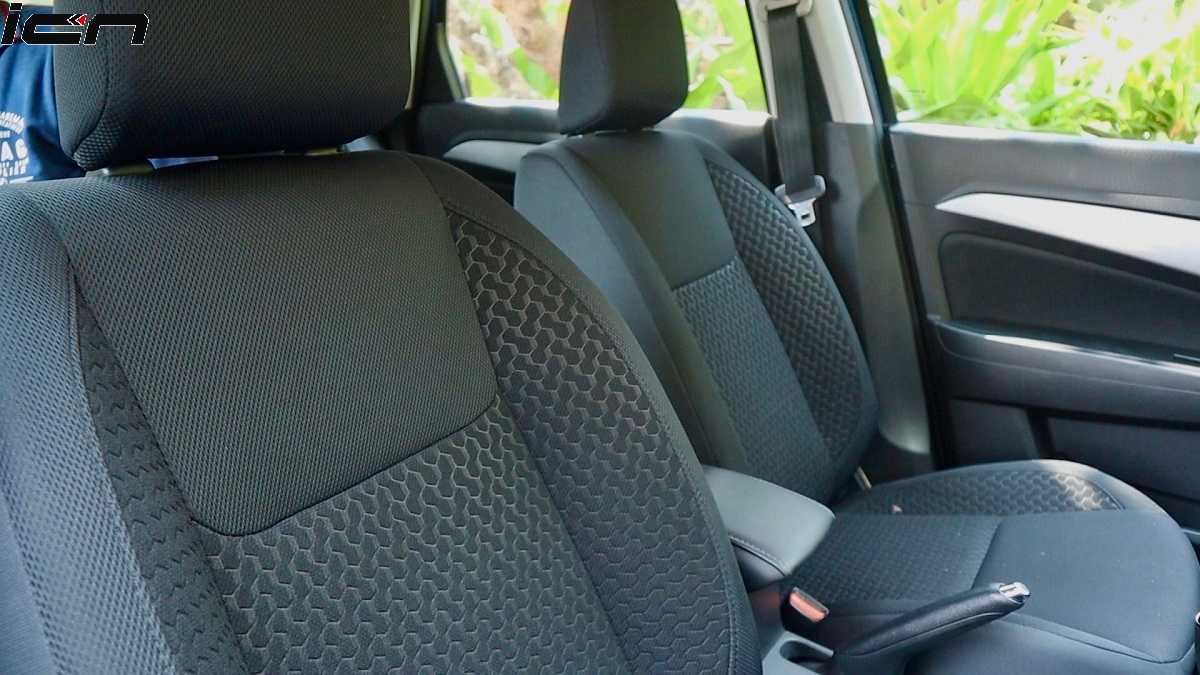 Brezza facelift Seats