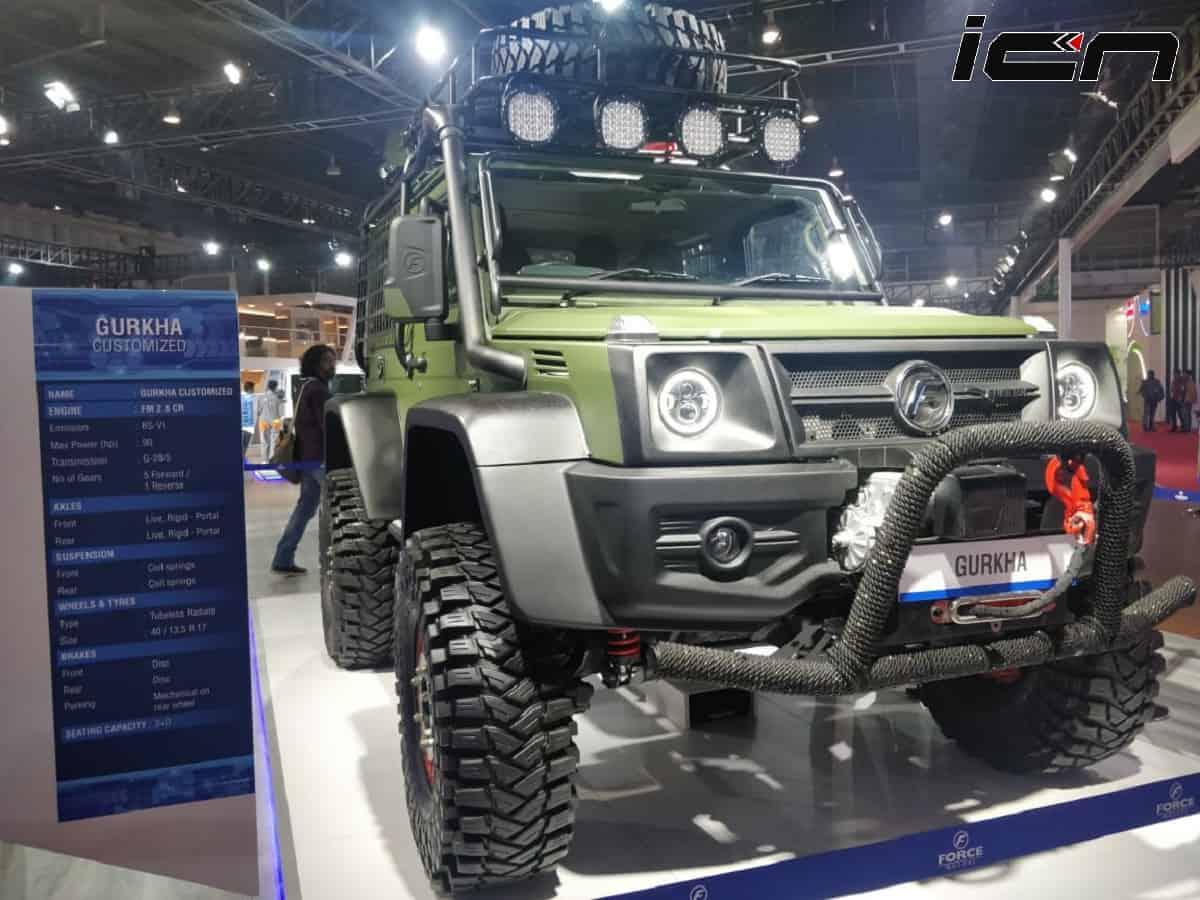 Customized Force Gurkha Details