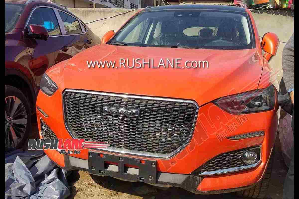 Haval F5, Haval F7 SUVs Spotted; Debut At Auto Expo 2020
