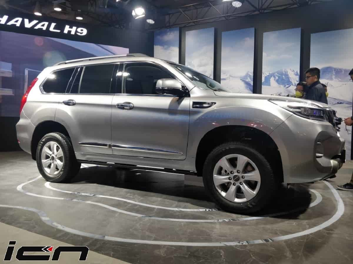 Haval H9 7-Seater SUV Unveiled at Auto Expo 2020 – Fortuner Rival