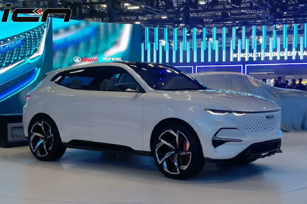 Haval Vision 2025 SUV Concept At Auto Expo 2020