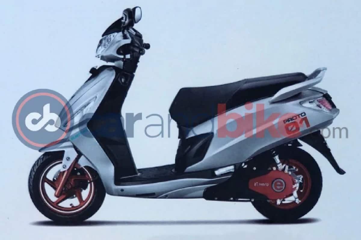 Hero eMaestro Electric Scooter Under Development