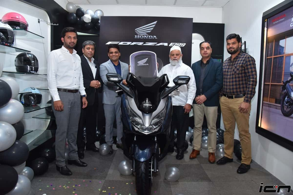 Honda Forza 300cc Scooter's First Lot Delivered In India
