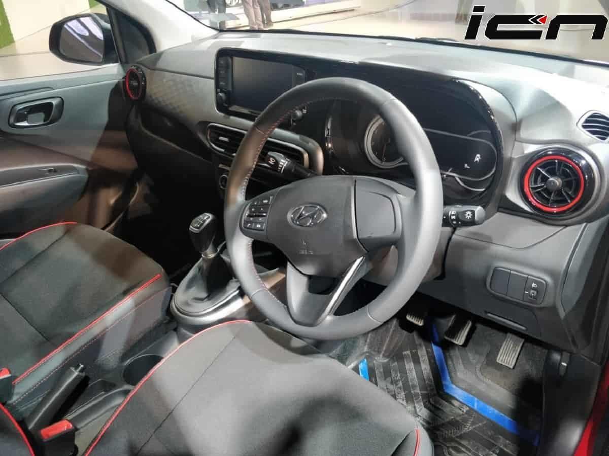 Hyundai Grandi10 Nios Turbo Interior