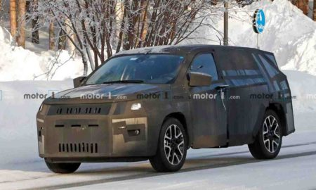 Jeep 7-seater SUV Spied
