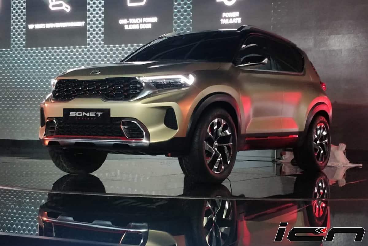 Kia Sonet Auto Expo