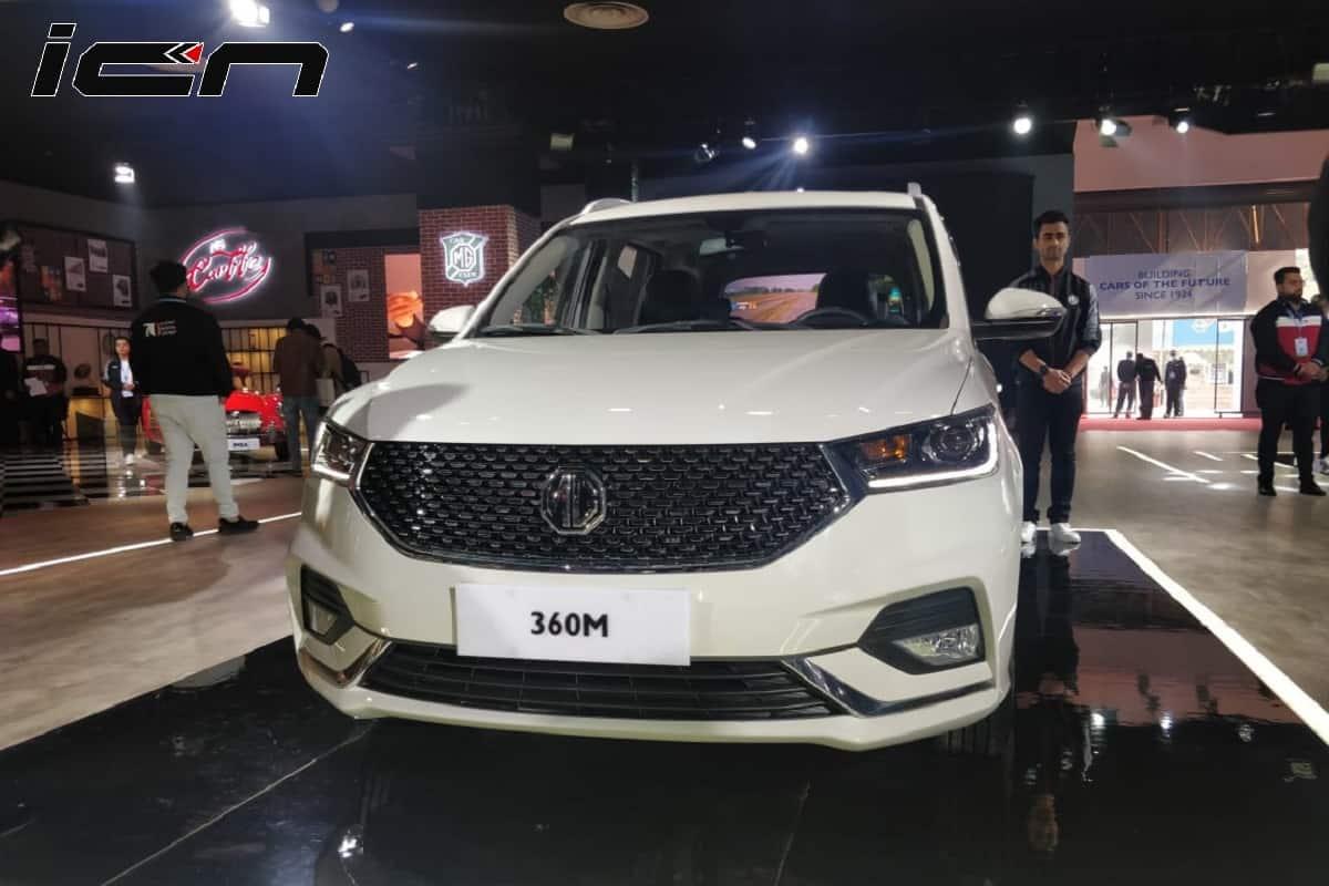 MG 360M Auto Expo 2020