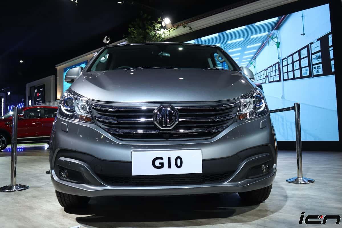 MG G10 MPV India