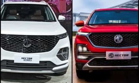 MG Hector Plus Vs Hector