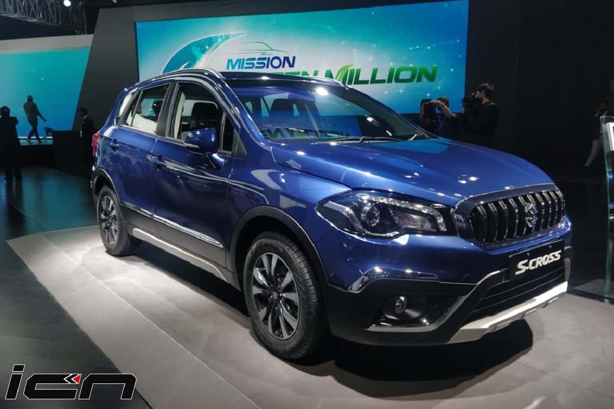 2020 Maruti S-Cross Petrol Auto Expo 2020