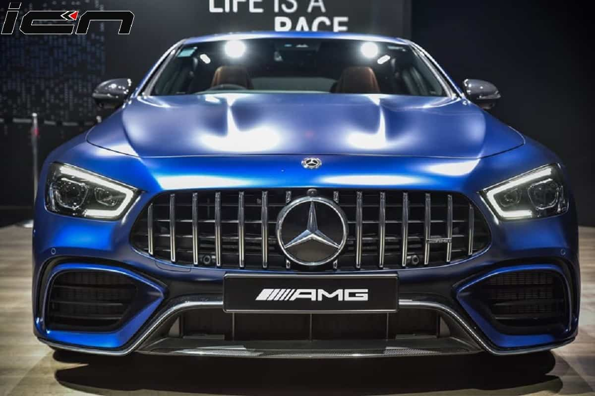 Mercedes Amg Gt 4 Door Coupe Is Now On Sale In India