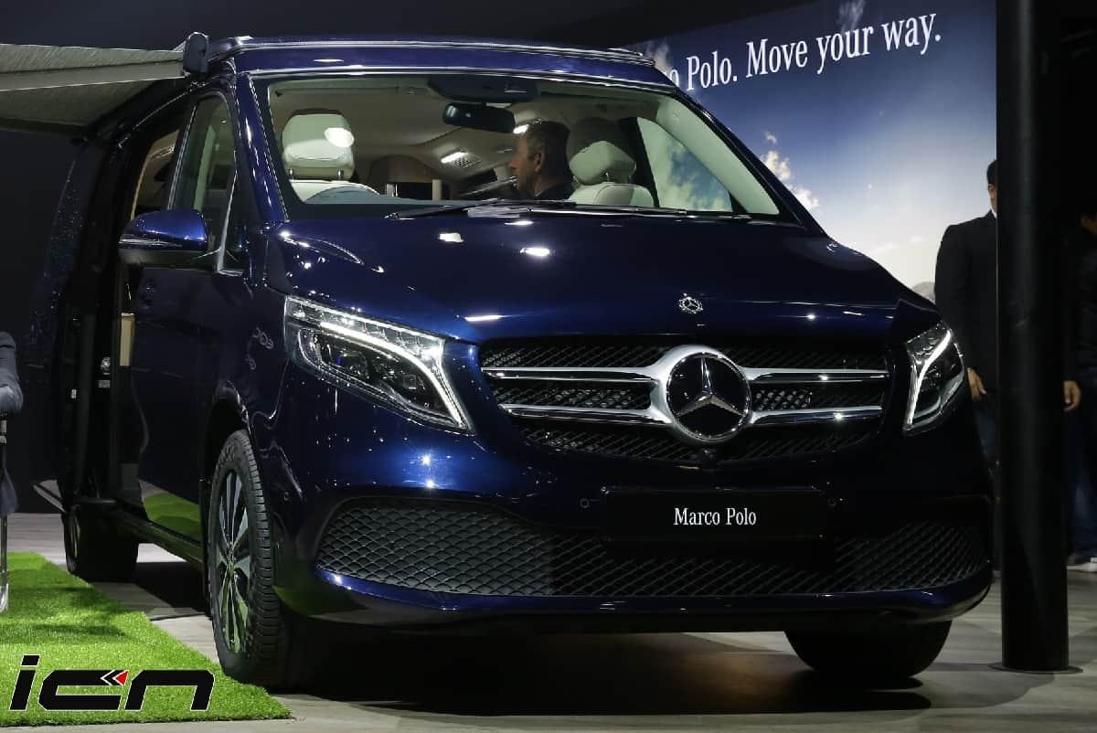 Mercedes Benz V-Class Marco Polo Price
