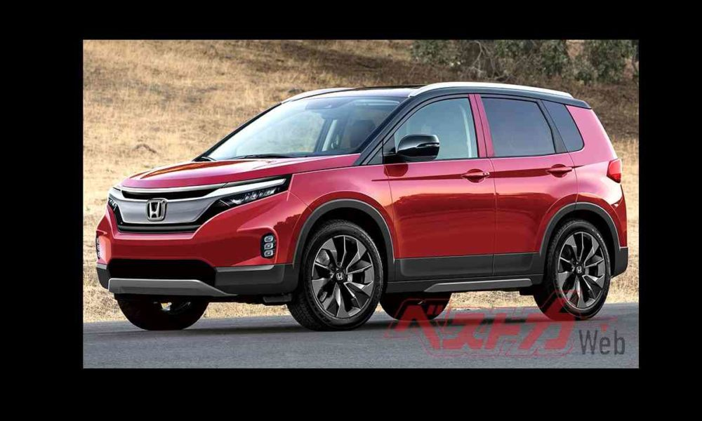 New Honda Compact SUV rendered